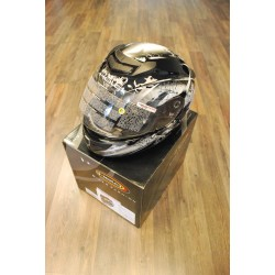Held Brave helmet, black/silver
