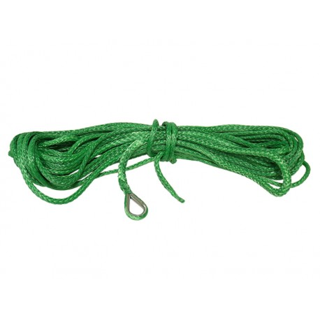 Bronco Syntethic rope 4.5mm x 15,3m, green