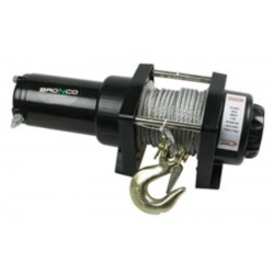 Bronco 2500 gen 1 ATV winch, 12V, wire