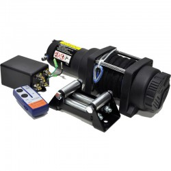 Bronco 2500 GEN II ATV winch, 12V, rope