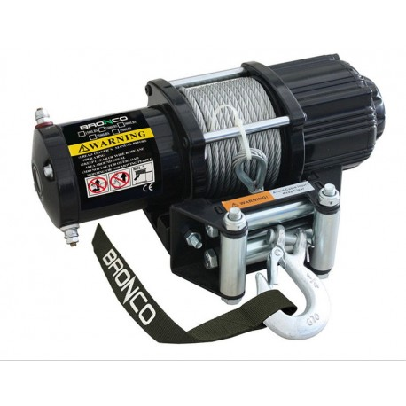 Bronco 4500 GEN II ATV winch, 12V, wire