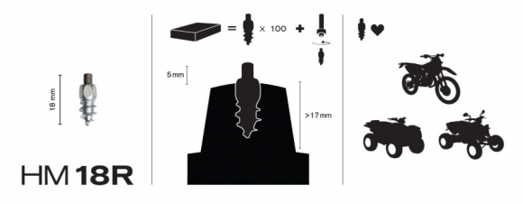 Grip.ee - Racing studs for ATV-s, Quadbikes and offroad bikes (cross)